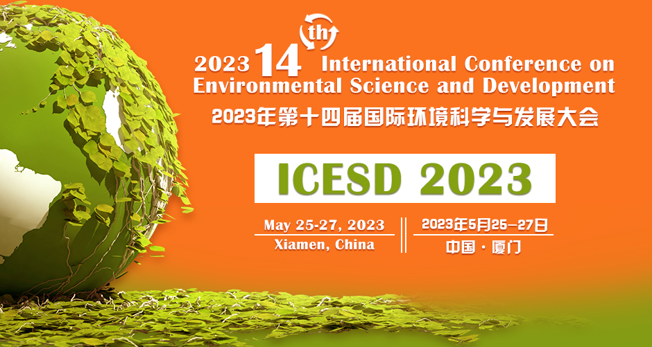 ICESD2020 Environmental Science and Development